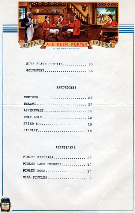 Elm Street Club, Pelc's Cafe - Hatfield Grill 'n Chill